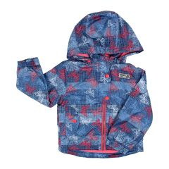 Pinzel Girls 4 Season Jacket Butterfly Print Size 2-6x