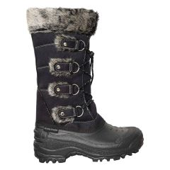 Arctic Tracks Lace Up Winter Boots with Faux Fur