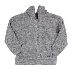 Burnside Sueded Fleece Boys Hoodie Grey