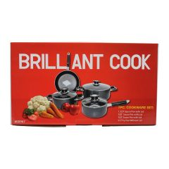 Brilliant 7 Piece Cookware