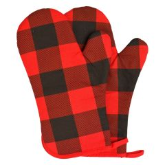 Buffalo Check Oven Mitt