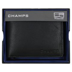 Champs Passcase Leather Wallet