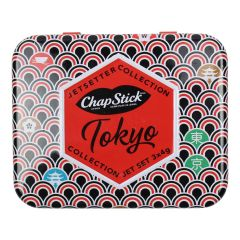 Chapstick Jetsetters Collection 3 Flavour Tin Assorted