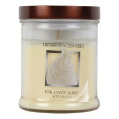 Cinnavanilla Cream Curls Soy Candle