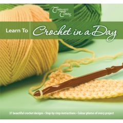 Company's Coming Learn to Crochet in a Day Book