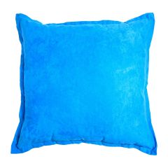 Square Suede Throw Cushions Assorted