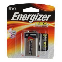 Energizer Max + Power Seal Battery 9V1