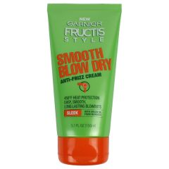 Garnier Fructis Blow Dry Anti-frizz Cream With Moroccan Argan Oil 5.1 oz