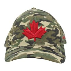 Canada Maple Leaf Cap Camouflage