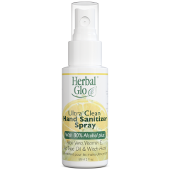 Herbal Glow Ultra Clean Hand Sanitizer Spray - 25 pack