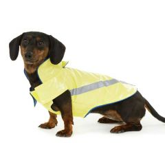 Hotel Doggy Rain Slicker Lemon Tonic Small