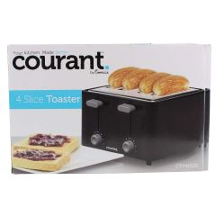 Courant by Impecca 4 Slice Toaster