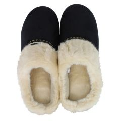 Isotoner High Back Slippers Black
