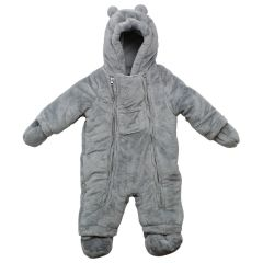 Northpeak Plush Cold Weather Baby Bodysuit