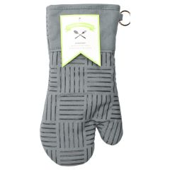 Fresh Ingredients Oven Mitt with Silicone Grips