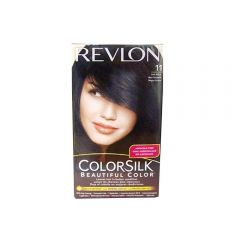 Revlon ColorSilk  Hair Colour - #11 Soft Black