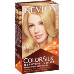 Revlon ColorSilk 3D Color Gel Technology Hair Colour - Medium Blonde #74