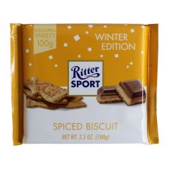 Ritter Sport Spiced Biscuit Winter Edition 3.5oz (100g)