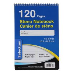 Selectum Steno Ruled Notebook 120Pg