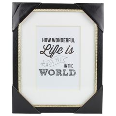 Sheffield Home Wall Art Frame 8 x 10 Inch
