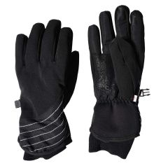 Hot Paws Ski Glove with Knit Cuff Black