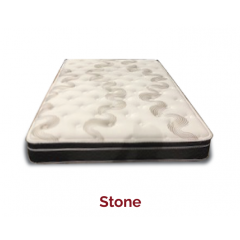 Sova Stone 11.5in Euro Top Pocket Coil Mattress Queen