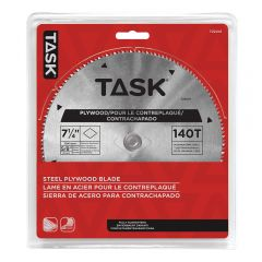 Task Tools 7-1/4 inch 100T Steel Plywood Blade