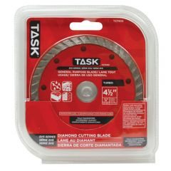 Task Tools 4.5 inch Turbo SVS Diamond Blade - 1/pack