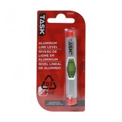 Task Tools Aluminum Line Level - 1/pack