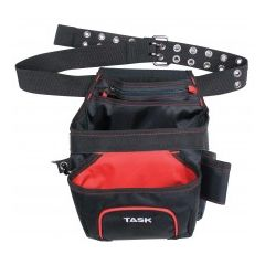Task Tools Nail/Tool Pouch With Belt