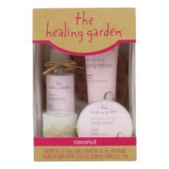The Healing Garden Coconut 5 Piece Gift Set