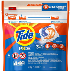 Tide pods original 20 pac