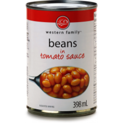 Western Family Baked Beans In Tomato Sauce 398mL