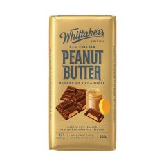 Whittakers Peanut Butter Chocolate 200g