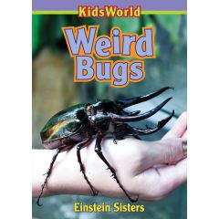 Kids World Weird Bugs Book