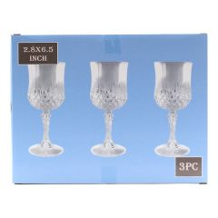 Wine Glasses 3 Piece Set
