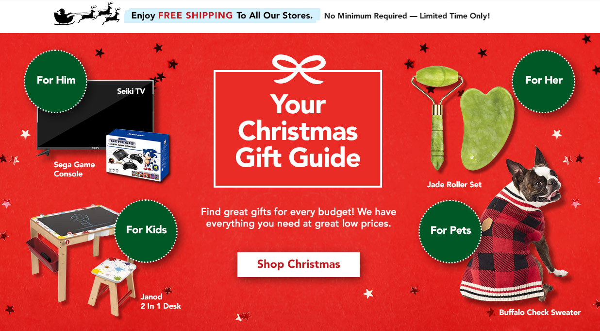 FIELDS Christmas Gifts For Every Budget
