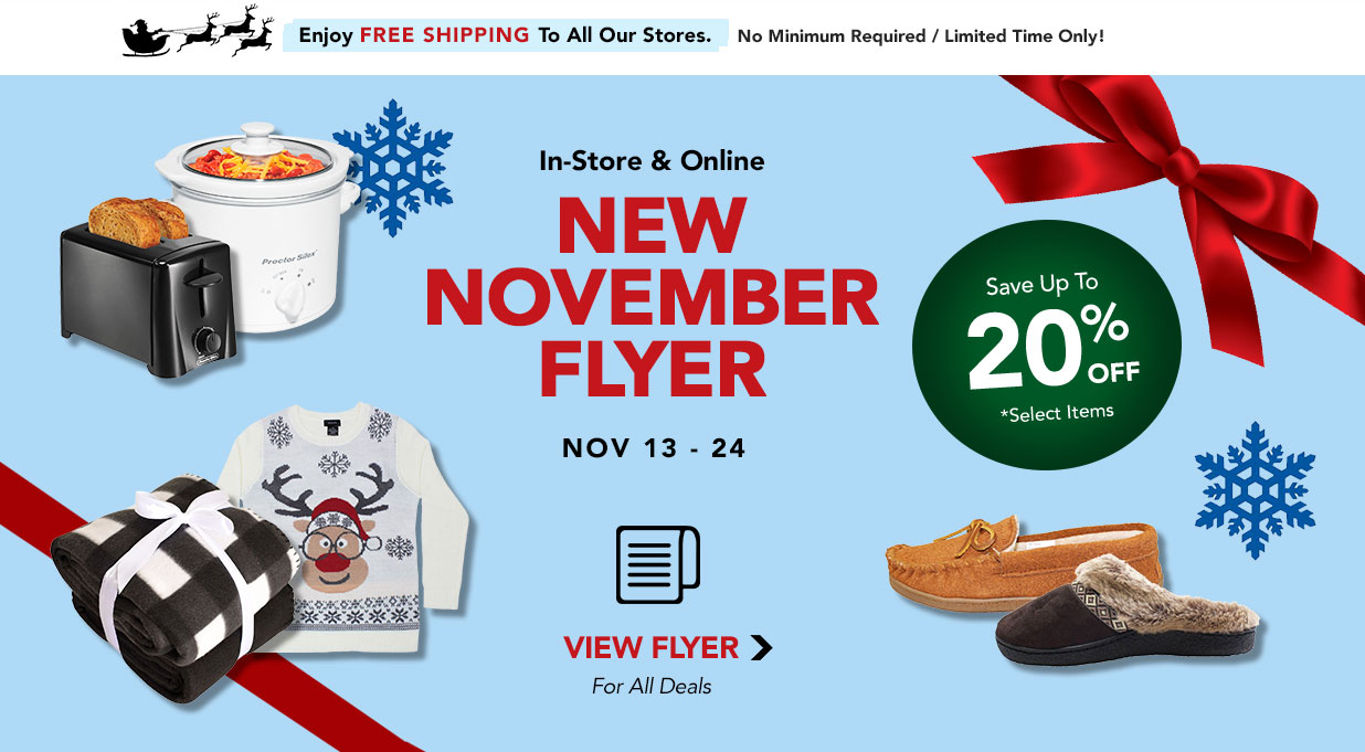 FIELDS November Flyer Save Up To 20%