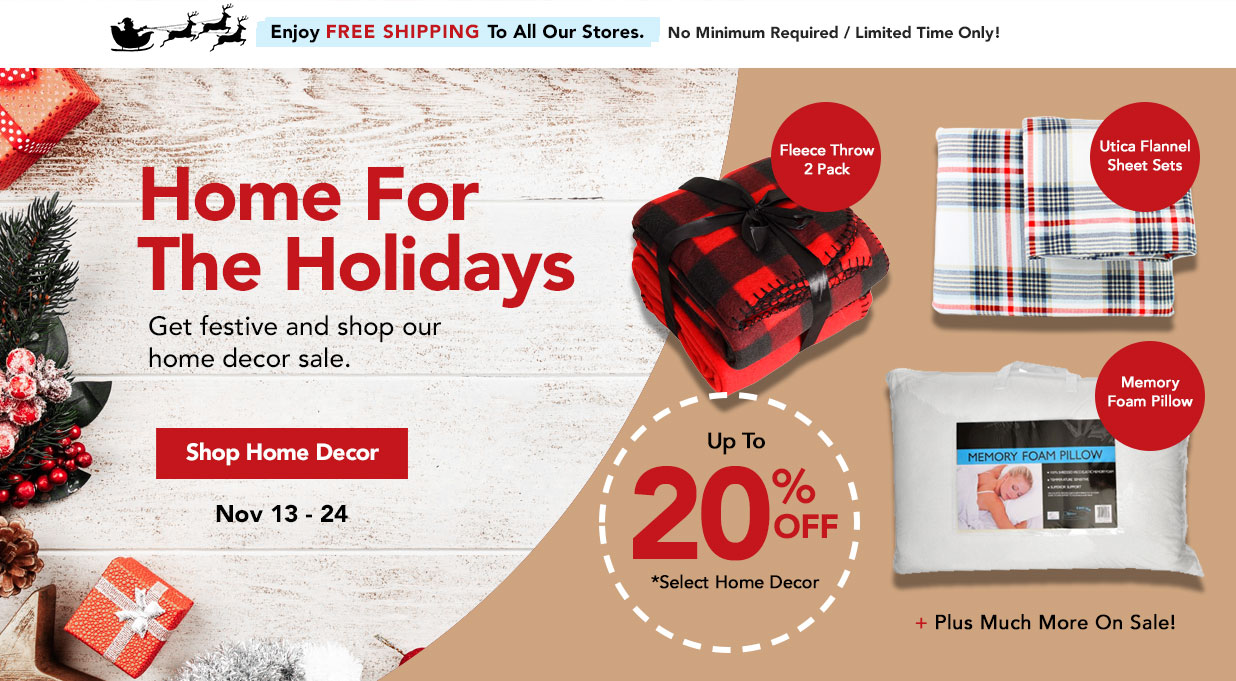 FIELDS Save 20% Off Home Decor