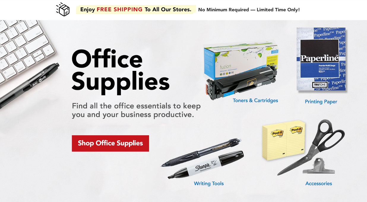 FIELDS Office Supplies - Ink, Paper, Pens, Stationery