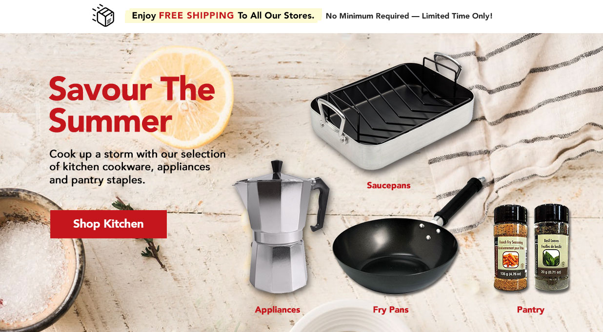 FIELDS Great Value on Kitchen Cookware