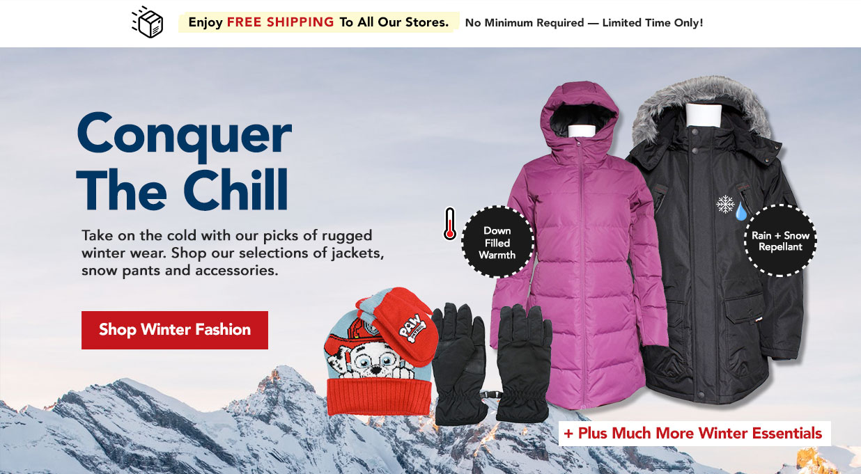 FIELDS Winter Fashion - Jackets, Snow Pants, Gloves, and More